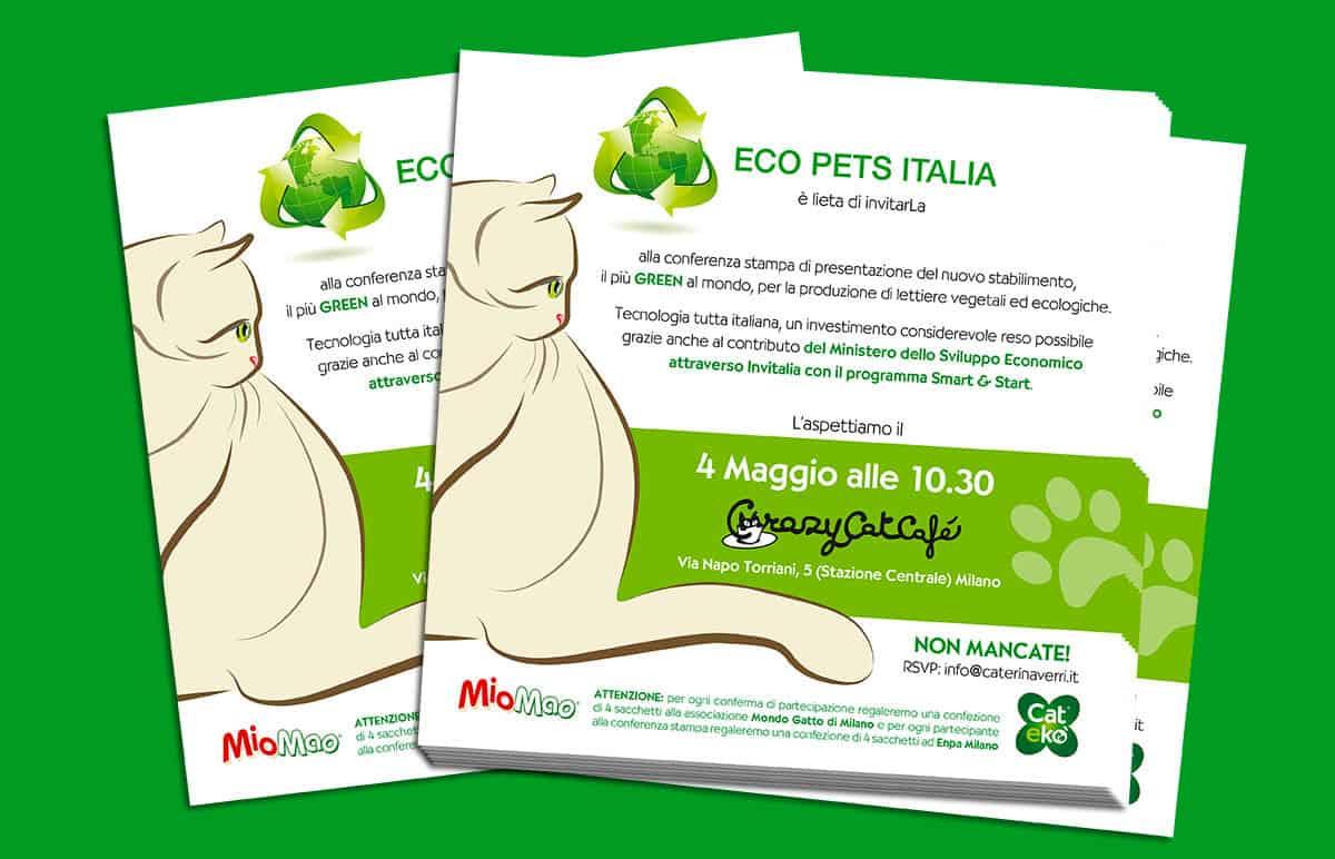 Evento Eco Pets Italia invito