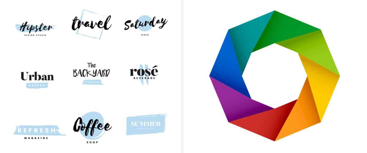Logo scelta colori e fonts