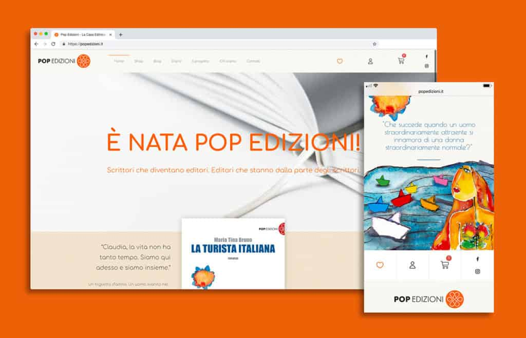 Pop Edizioni - sito web