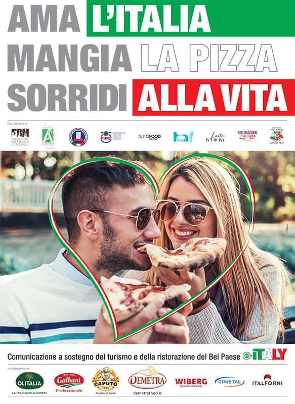 Ama l'Itala, mangia la pizza, sorridi alla vita