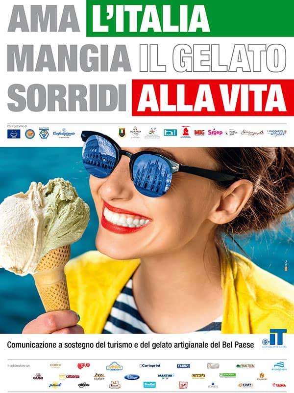 Ama l'Itala, mangia il gelato, sorridi alla vita