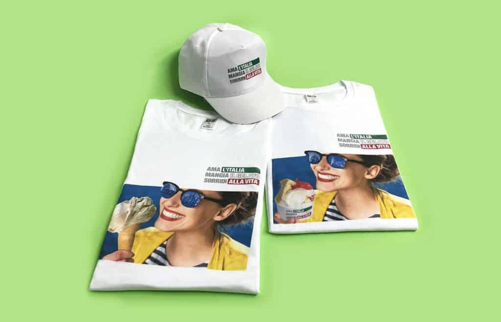 Gadget magliette e cappellini