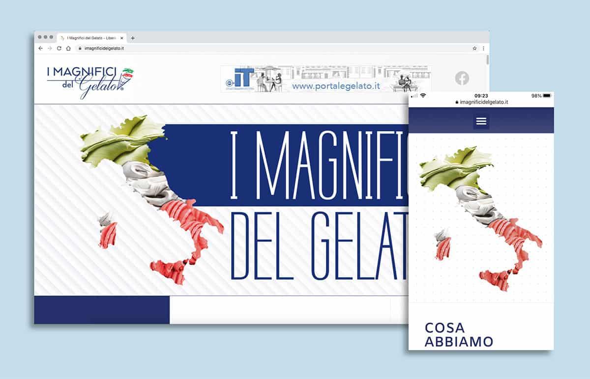 Sito web imagnificidelgelato.com