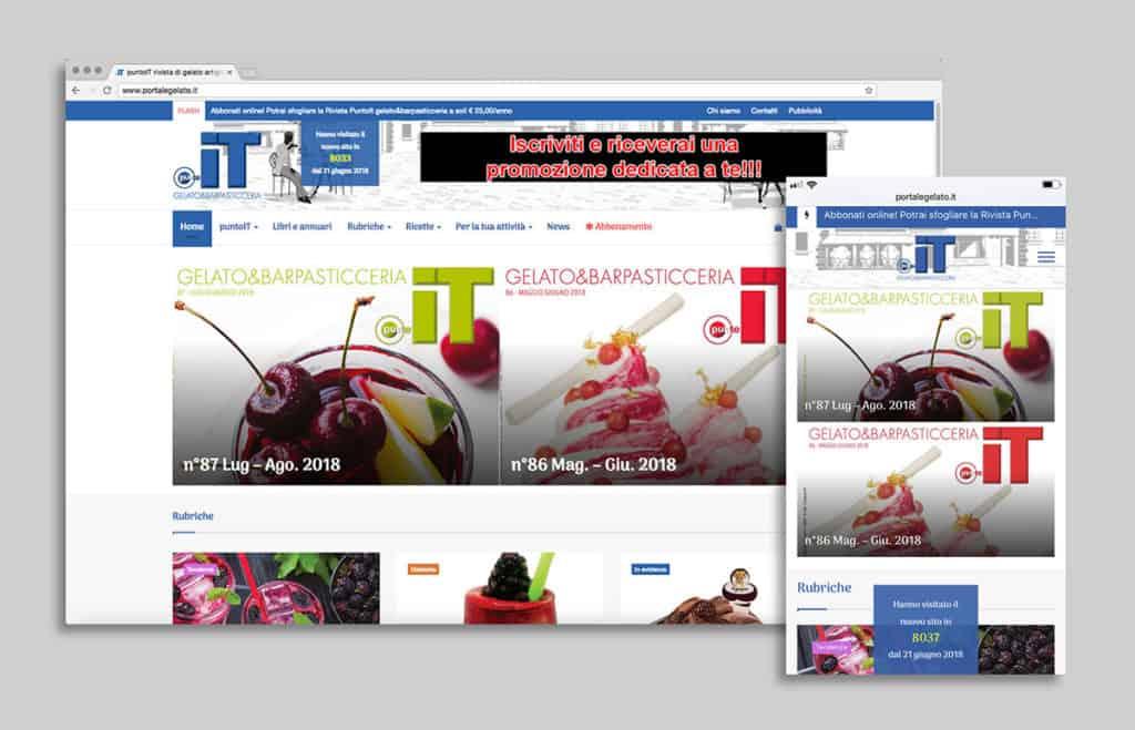 Sito web portalegelato.it