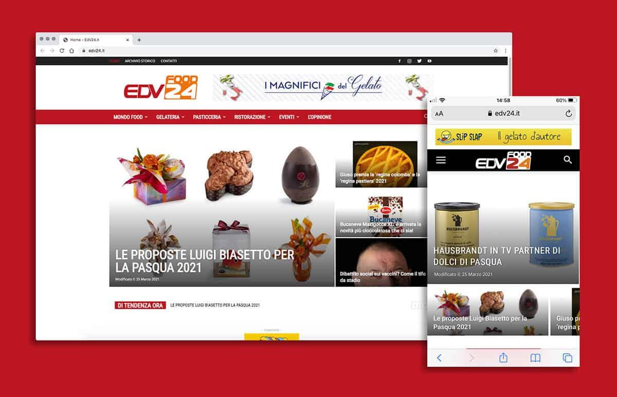 Sito web edv24.it