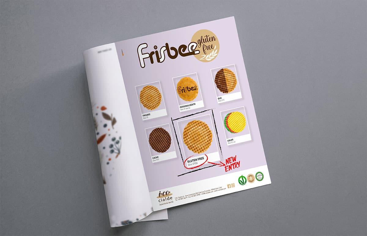 I.Co. Cialde - Frisbee gluten free