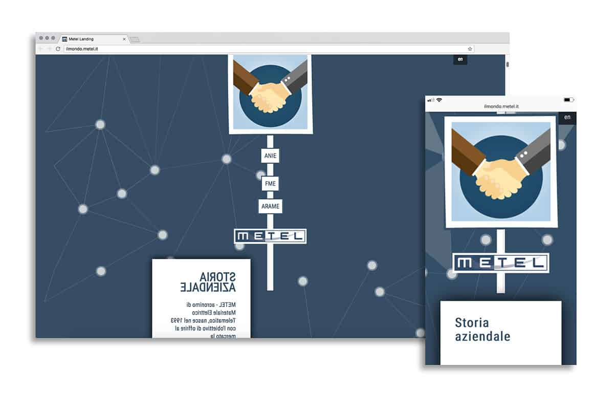 Landing page ilmondo.metel.it