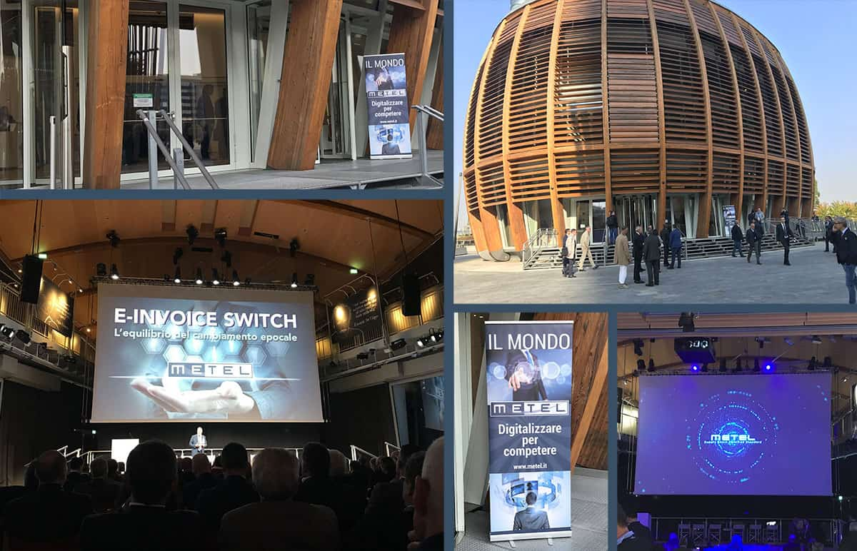 Immagine coordinata evento Milano