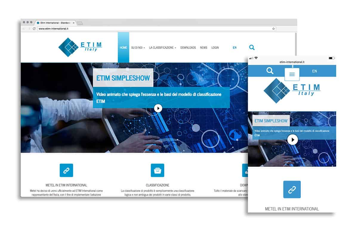 Sito web etim-international.it