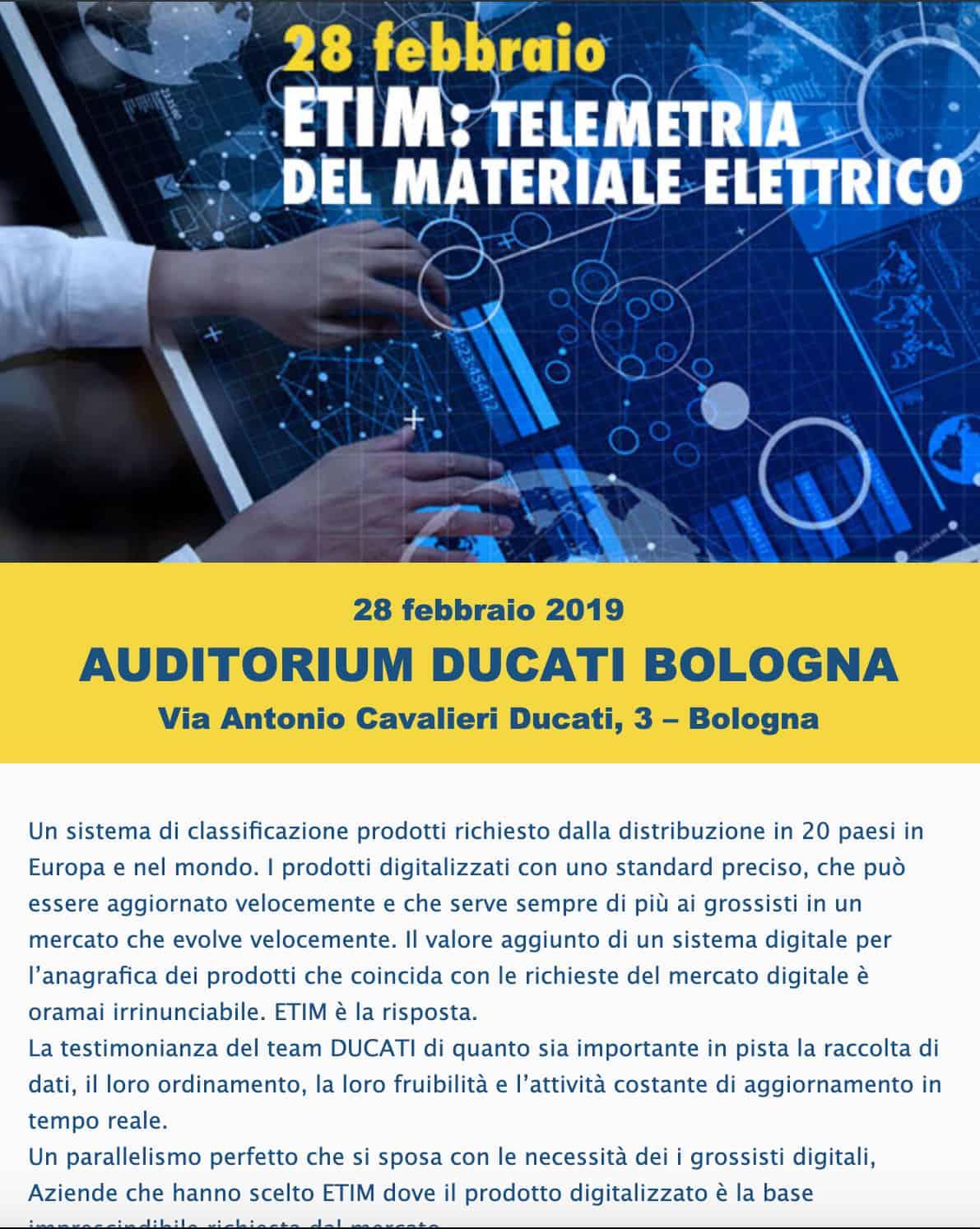 Newsletter invito evento