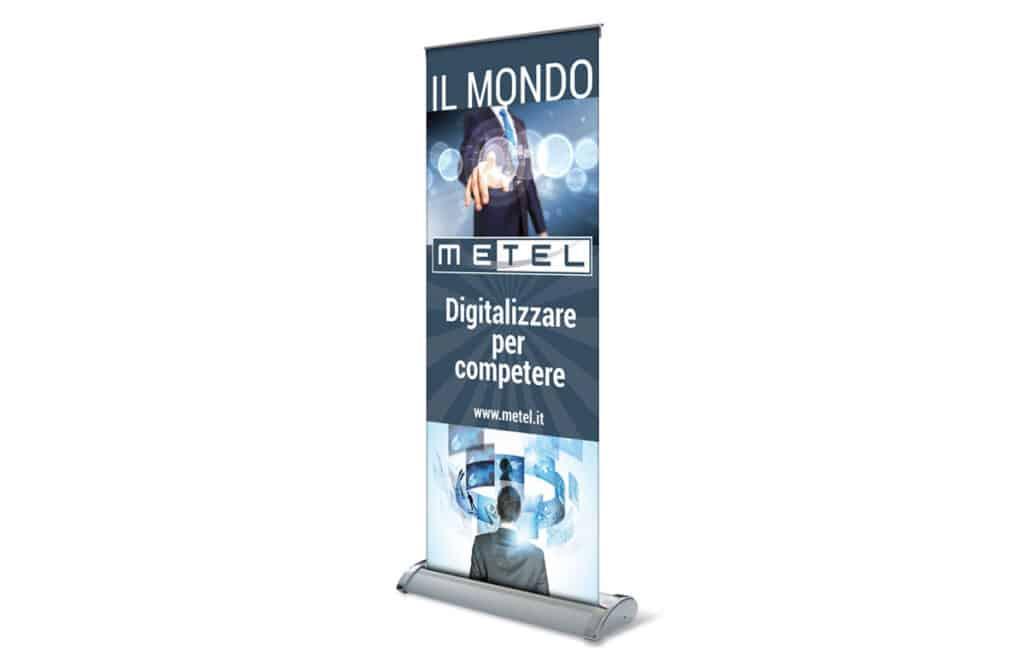 Roll-up Mondo Metel