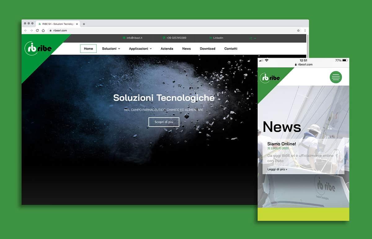 Sito web ribesrl.com